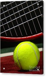 Tennis Ball Acrylic Print