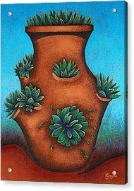 Terracotta I Acrylic Print