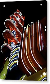 Texas Theatre Marquee Acrylic Print by John Babis
