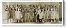 The Albertina Rasch Girls In Rio Rita Acrylic Print by Florence Vandamm