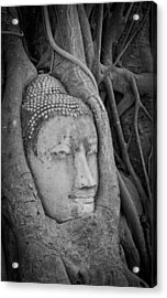 The Ancient City Of Ayutthaya Acrylic Print by Thosaporn Wintachai