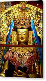 The Art Found In The Arhitectural Style Acrylic Print by Jaina Mishra