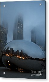 The Bean And Fog Acrylic Print