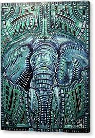 The Beast Acrylic Print by Michael Kulick