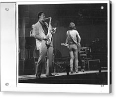 The Boss And Clarence Acrylic Print by Bc Adamkowski