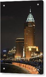 The Bund, Shanghai Acrylic Print by John Shaw