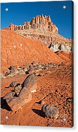 The Castle Capitol Reef National Park Acrylic Print