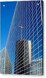 Acrylic Print featuring the photograph The Crystal Cathedral by Duncan Selby