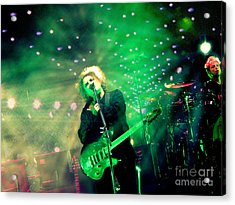 The Cure Robert Smith Acrylic Print