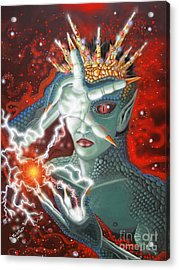 The Enchanter Acrylic Print by Rick Mittelstedt