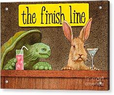 The Finish Line... Acrylic Print