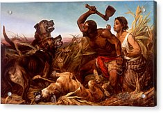 The Hunted Slaves Acrylic Print by Mountain Dreams
