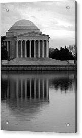 Acrylic Print featuring the photograph The Jefferson Memorial by Cora Wandel
