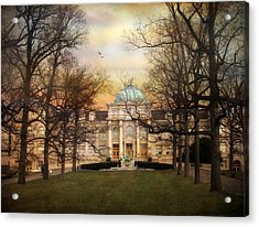 The Library Acrylic Print by Jessica Jenney