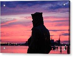 The Lone Sailor Acrylic Print
