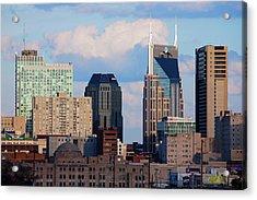 The Nashville Skyline As Viewed Acrylic Print