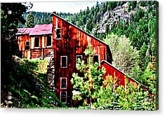 The Old E And E Acrylic Print by Lynne and Don Wright