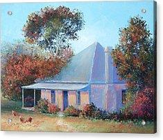 The Old Farm House Acrylic Print