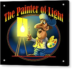 The Painter Of Light Acrylic Print