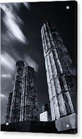 Acrylic Print featuring the photograph The Pillars Of Apollo's Temple by Micah Goff