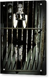 The Prisoner Acrylic Print by Jim Poulos