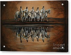 The Quest Acrylic Print by Nancy Bradley
