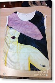 The Question Acrylic Print by Duygu Kivanc