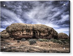 The Rock Acrylic Print by Arnie Arnold