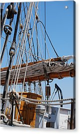 Acrylic Print featuring the photograph The Sail by Ramona Whiteaker