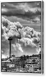 The Space Needle Acrylic Print by David Patterson