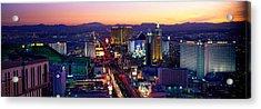 The Strip, Las Vegas, Nevada, Usa Acrylic Print