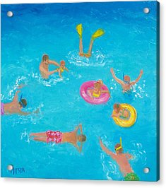 The Swimmers Acrylic Print