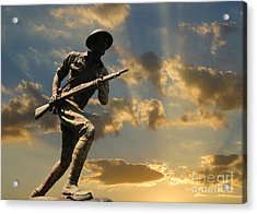 The Unknown Soldier Acrylic Print