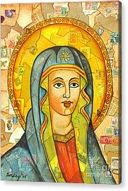 The Virgin Acrylic Print by Joseph Sonday