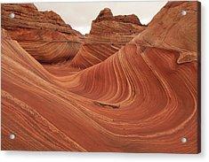 The Wave Acrylic Print by Darryl Wilkinson