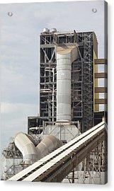 The Yan Lang Coal Fired Power Station Acrylic Print