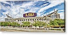 Tiger Stadium Panorama Acrylic Print