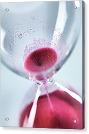 Time Acrylic Print by Tek Image