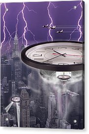 Time Travelers 2 Acrylic Print by Mike McGlothlen