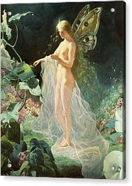 Titania Acrylic Print by John Simmons