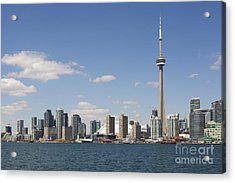 Toronto City Skyline Acrylic Print