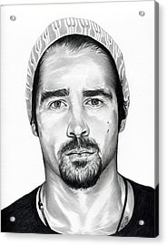 Total Recall  Colin Farrell Acrylic Print