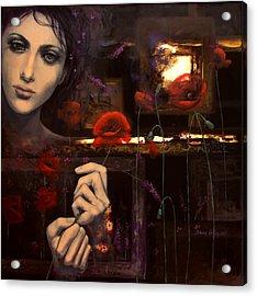 Touching The Ephemeral Acrylic Print by Dorina  Costras