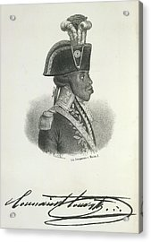 Toussaint Louverture Acrylic Print by British Library
