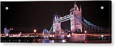 Tower Bridge London England Acrylic Print by Panoramic Images