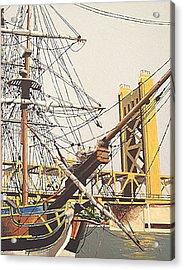 Tower Bridge Acrylic Print by Paul Guyer