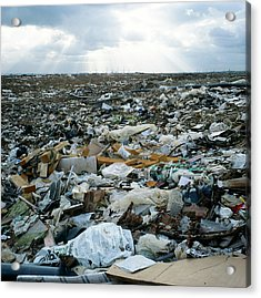 Toxic Waste Dump Acrylic Print by Robert Brook/science Photo Library