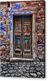 Traditional Door.. Acrylic Print