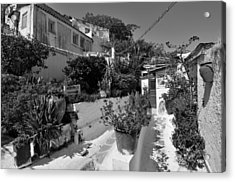 Traditional Houses In Anafiotika Acrylic Print by George Atsametakis