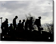 Training Exercise For Major Emergency Acrylic Print